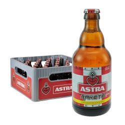 astra rakete pils bier 0,33Liter