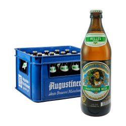 Augustiner Hell 20 x 0,5L helles lagerbier bier lager augustinerbäu münchen