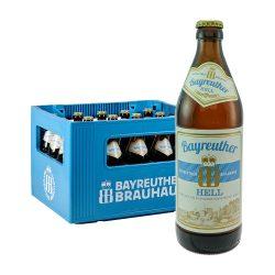 bier Bayreuther hell kasten 20 05 Liter