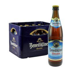 Benediktiner weissbier kasten 20 05 liter alkoholfrei weizen bier