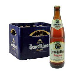 Weizenbier Benediktiner Weissbier 20 x 0,5L naturtrüb weizen bier