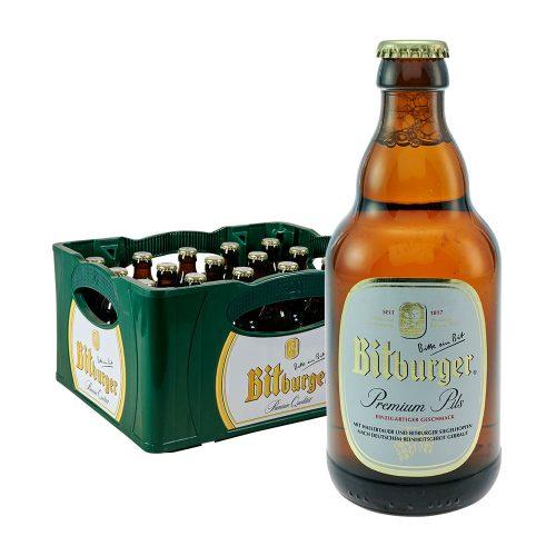 Bitburger Premium Pils 20 x 0,33L stubbi bier