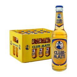 club mate original koffeinhaltiges erfrischungsgetränk 0,33 lier x 20