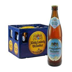 könig ludwig weissbier weizen alkoholfrei 20 x 0,5 Liter