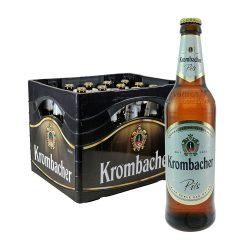 krombacher pils bier 20 0,5 Liter