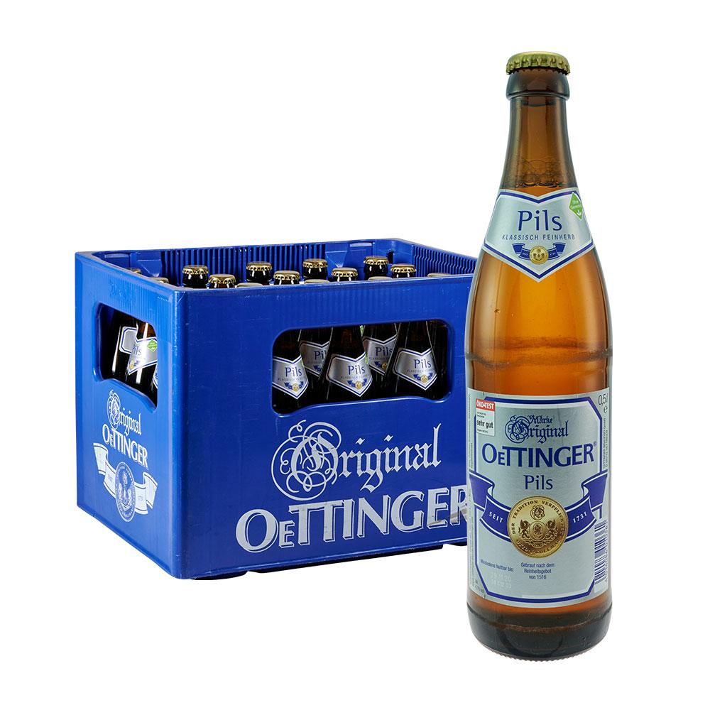 oettinger öttinger bier pils 20 x 0,5 Liter
