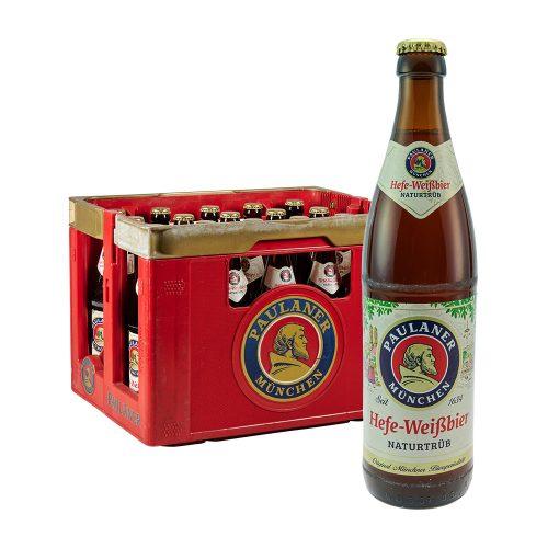 Paulaner Hefe Weissbier Naturtrüb 20 x 0,5L bier weizen