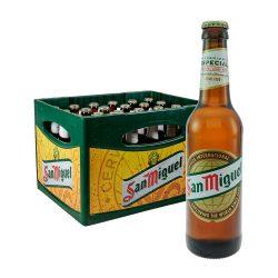 san miguel lager bier 24 x 0,33 Liter
