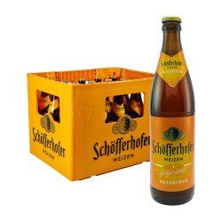 Schöfferhofer Hefeweizen Naturtrüb 20 x 0,5 liter weizen weissbier bier
