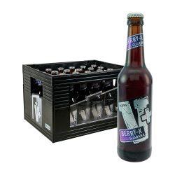 Veltins V+ Berry 24 x 0,33L guarana bier