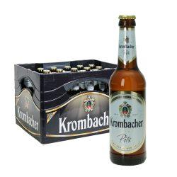 krombacher pils kasten bier 24 x 0,33l
