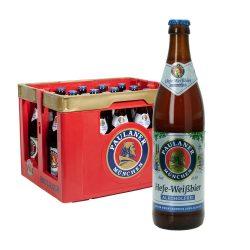 paulaner hefeweizen weißbier alkoholfrei bier 24 0,5l