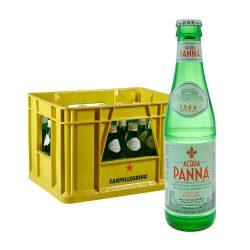 Acqua Panna 24 x 0,25L Glas wasser still stilles