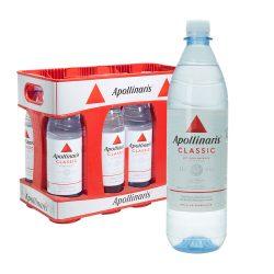 Apollinaris Mineralwasser Classic 10 x 1L PET sprudel wasser