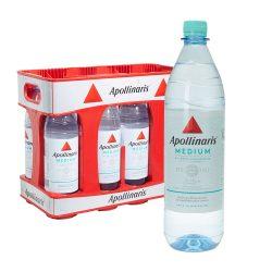 Apollinaris Mineralwasser medium 10 x 1L PET