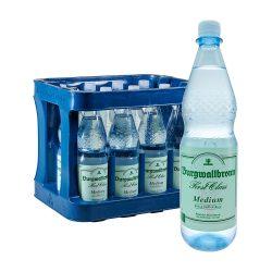 Burgwallbronn Mineralwasser Medium 12 x 1L first class wasser