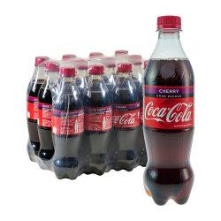 Coca Cola Cherry Ohne Zucker 12 x 0,5L coke
