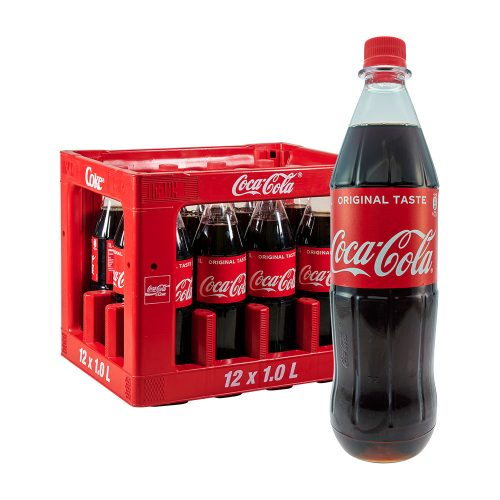 Coca Cola 12 x 1L Coke