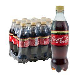Coca Cola Vanille Ohne Zucker 12 x 0,5L coke