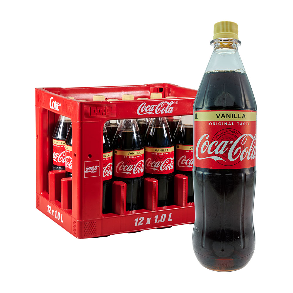 Coca Cola Vanille 12 x 1L coke