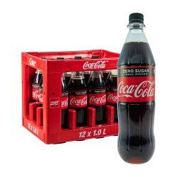 Coca Cola Zero 12 x 1L coke