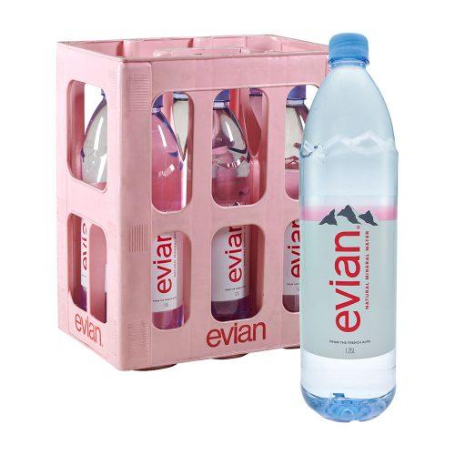Evian Natürliches Mineralwasser 6 x 1,5L still wasser