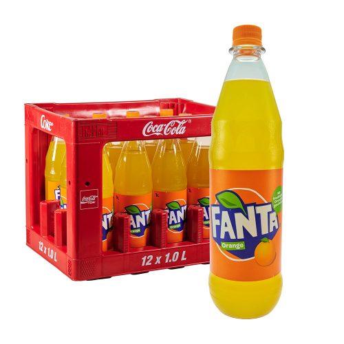 Fanta Orange 12 x 1L limonade limo