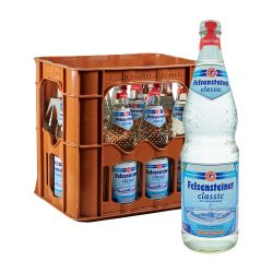 Felsensteiner Mineralwasser Classic 12 x 0,7L sprudel glas