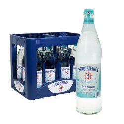 Gerolsteiner Mineralwasser Medium 12 0,75l Glas