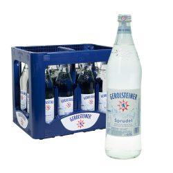 Gerolsteiner Mineralwasser sprudel 12 0,75l Glas