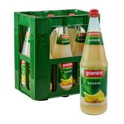 Granini Bananen Saft 6 x 1 L Liter Glas bananensaft