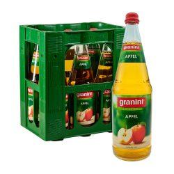 Granini apfel liter Saft 6 x 1L Glas Apfelsaft