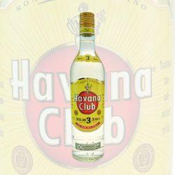 Havana Club Rum Anejo 3 Anos Jahre