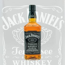 Jack Daniel's Old No. 7 Tennessee Whisky flasche 0,7 Liter