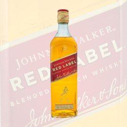Johnnie Walker Red Label Blended Scotch Whisky 0,7 Liter Flasche