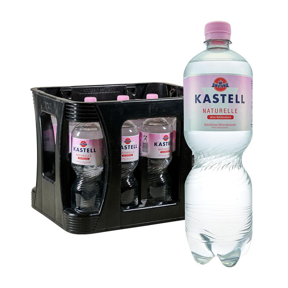 kastell still stilles wasser naturelle 12 x 1 Liter