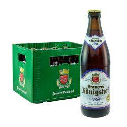 königshof altbier alt bier 12 x 0,5 Liter