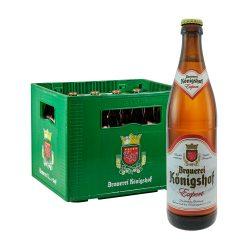 königshof export bier 20 x 0,5 Liter