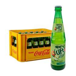 Lift Apfelschorle 24 x 0,33L Glas flasche kiste