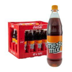 mezzo mix cola ornage mix limo 12 x 1 Liter