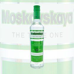 Moskovskaya Premium Vodka 0,5L Flasche the true one liter