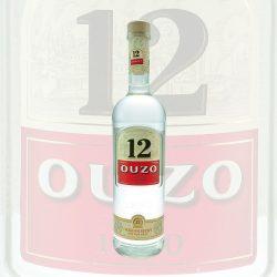 Ouzo 12 0,7L Flasche
