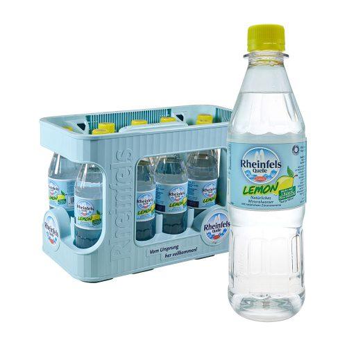Rheinfels Quelle Lemon 12 x 0,5L zitronen limonade wasser mit geschmack