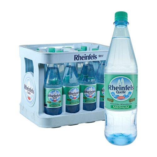 Rheinfels Quelle Natürliches Mineralwasser 12 x 1 liter medium