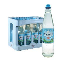Rheinfels Quelle Natürliches Mineralwasser Naturelle 12 x 0,7L Glas ohne kohlensäure naturelle