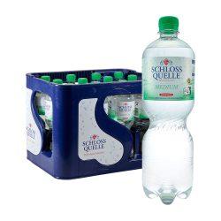 Schloss Quelle Mineralwasser Medium 12 x 1 liter