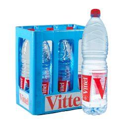 Vittel Natürliches Mineralwasser 6 x 1,5L still wasser