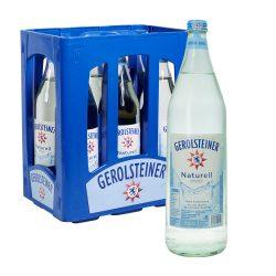 Gerolsteiner Mineralwasser Naturelle 6 x 1L Glas