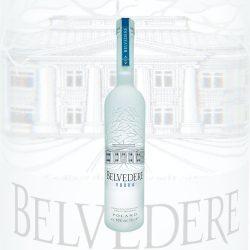 Belvedere Vodka 0,7L Flasche poland wodka