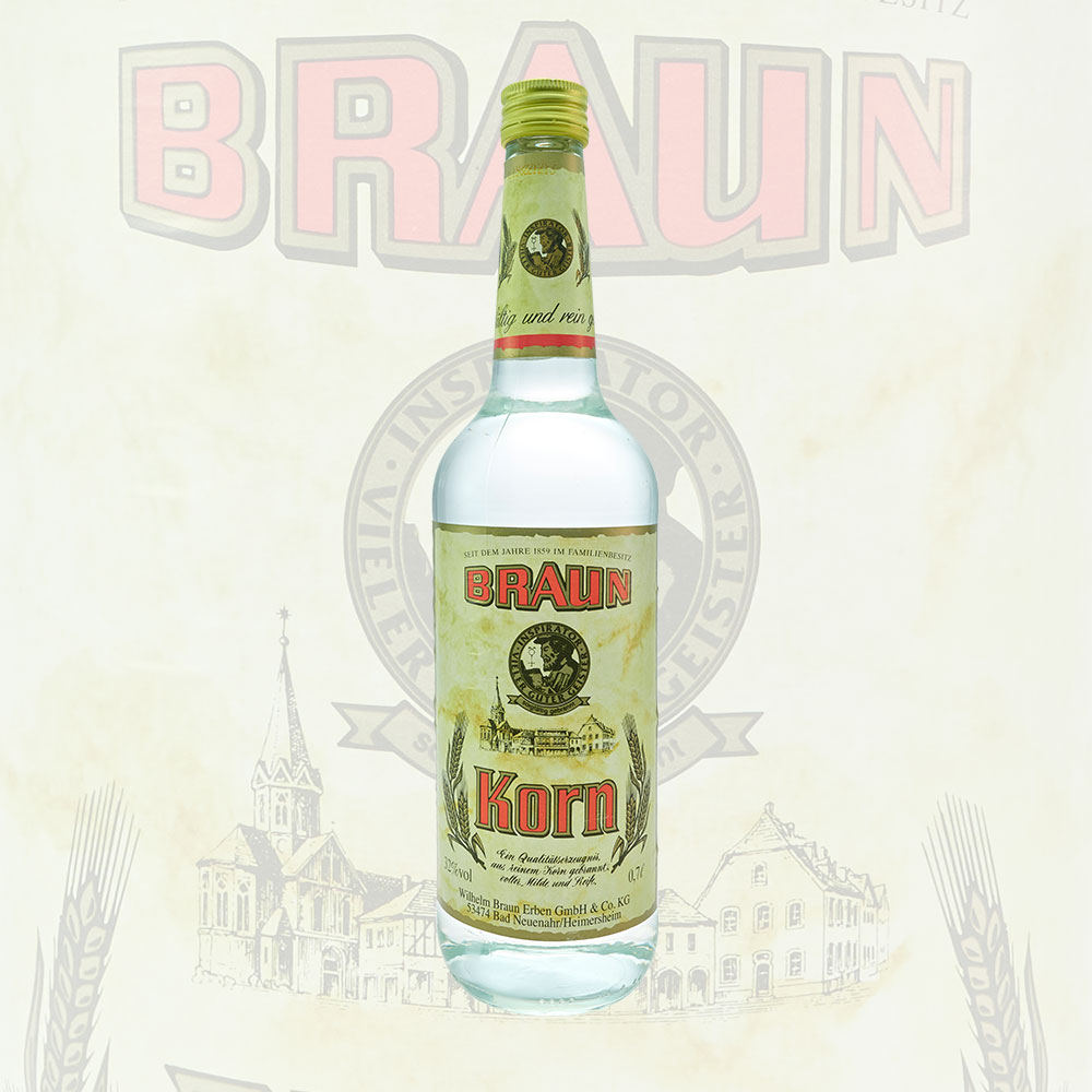 Braun Korn 0,7L Flasche